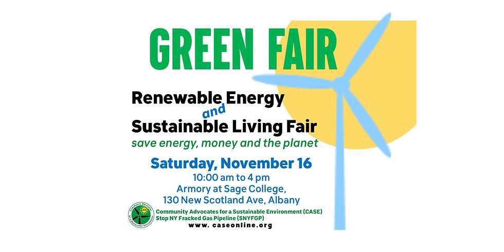 Renewable Energy and Sustainable Living Fair
