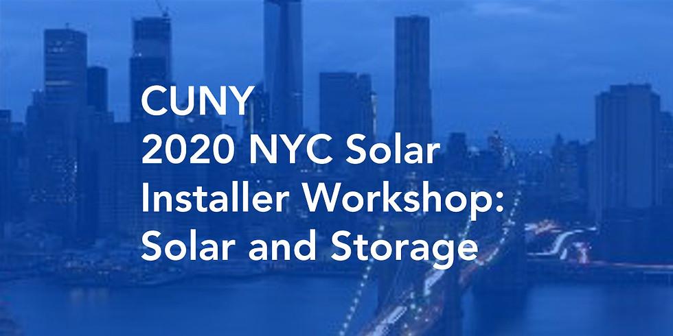 CUNY 2020 NYC Solar Installer Webinar: Part 1