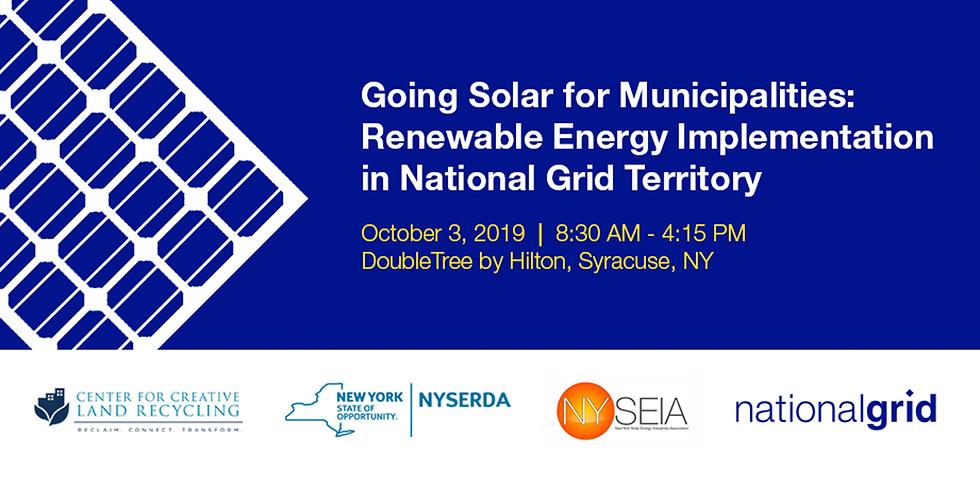 Going Solar for Municipalities