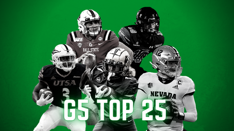2021 College Football Group of 5 Top 25