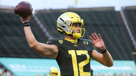 What did we learn about Oregon's Tyler Shough?