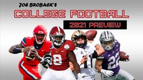Joe Broback's 2021 College Football Preview