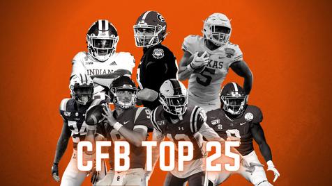 College Football Preseason Top 25 Rankings