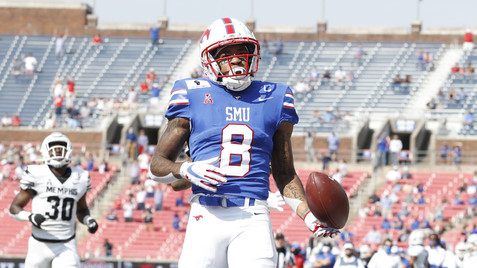 SMU Mustangs Depth Chart Projections