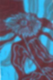 Daisy, lino print.JPG