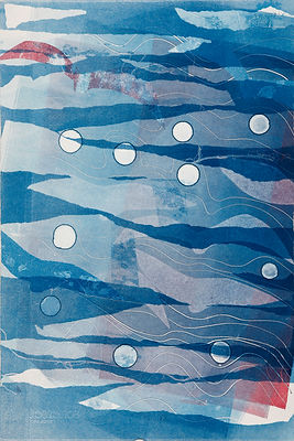 Blue Skies, monoprint.JPG