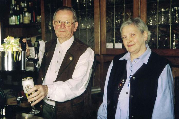 Fritz Gaide und Ehefrau Helga, geb. Großbernd