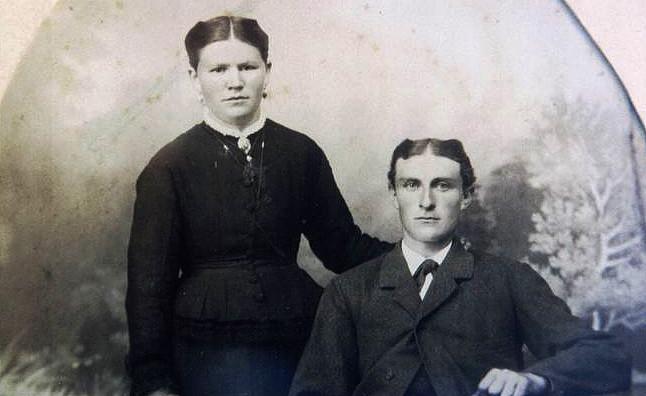 Ludwig Gaide und Wilhelmine Amalie, geb. Busch