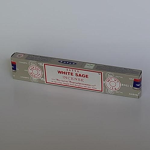 Satya Weißer Salbei Räucherstäbchen