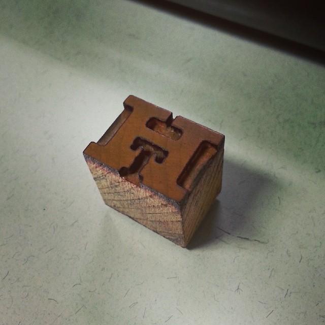 hamilton  wood type