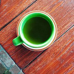 green mug t
