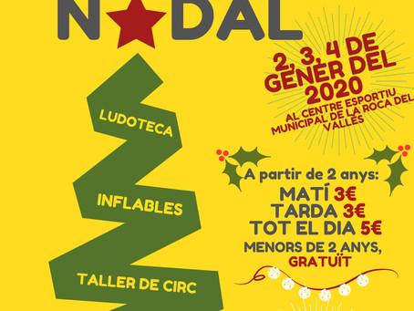 PARC DE NADAL A PARTS IGUALS