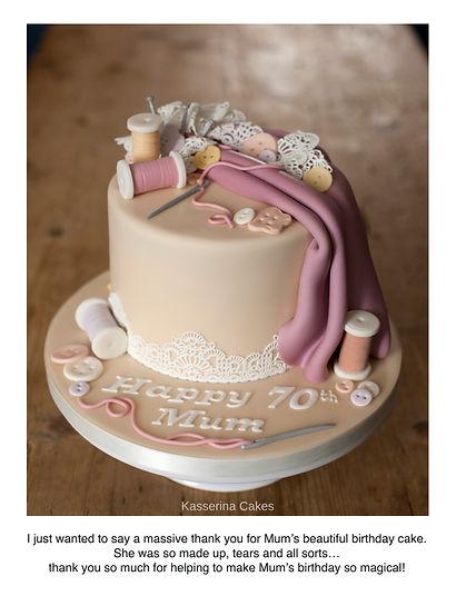 837 Heather Bratt Sewing cake 5th Oct 18