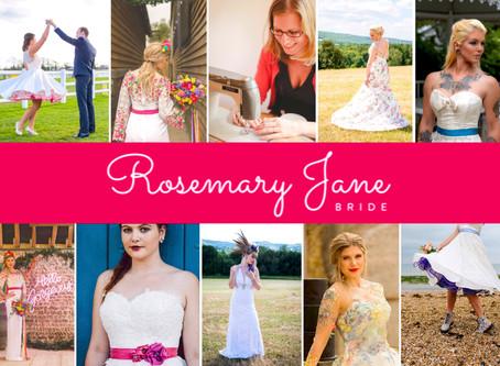 Supplier Profile - Rosie of Rosemary Jane Bride