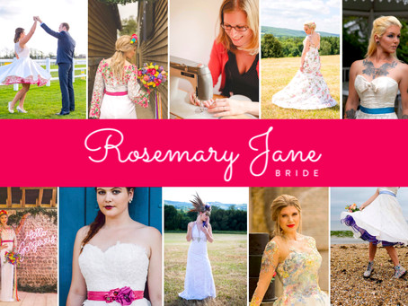 Supplier Profile - Rosie of Rosemary Jane Bride
