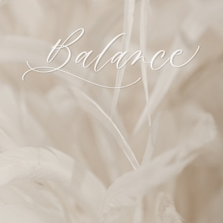 """Balance"" digital calligraphy"