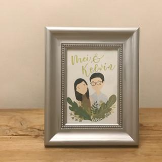 wedding gift for Mei & Kelvin
