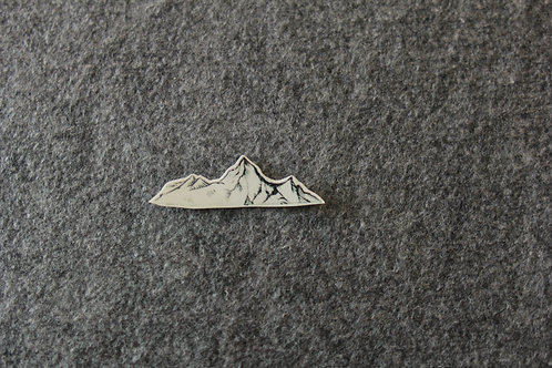 cottontatt mountain illustration temporary tattoo sticker