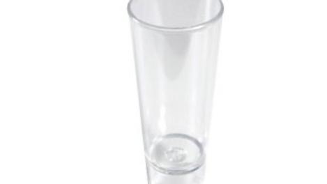 Vaso Tequilero cristal