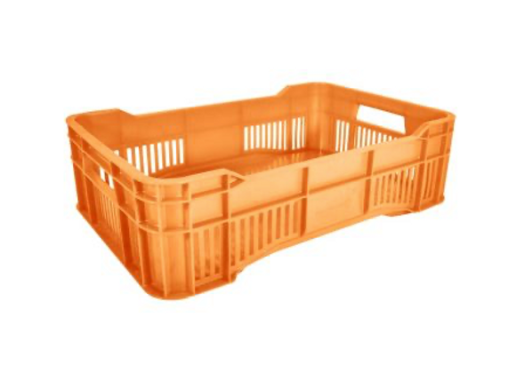 Caja Walterino mediana calada piso cerrado Material reciclado