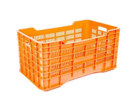 Caja Gigante calada piso calado Material reciclado