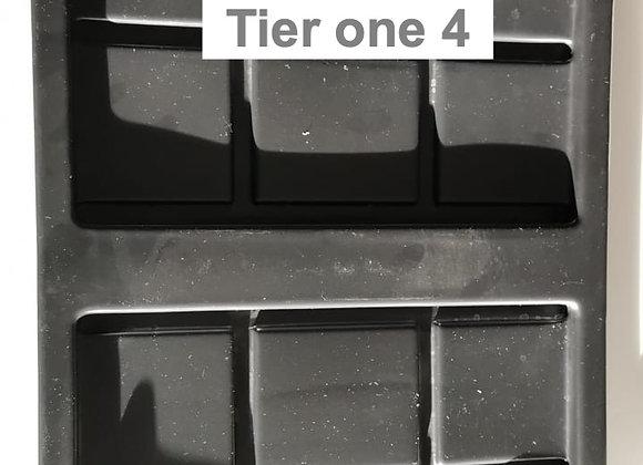 Tapa para caja tier one 4