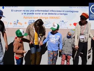 Día internacional del cáncer infantil.