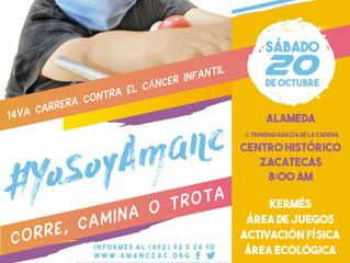 14va Carrera contra el cáncer!