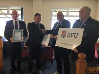 St Ives Gain RFU Accredtation