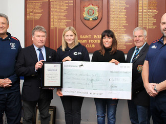 St Ives RFC Supporting Cancer Research UK