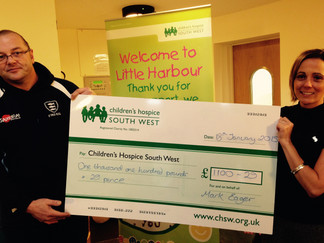 Little Harbour Receives Cheque
