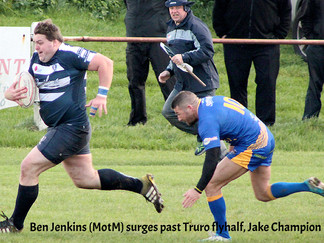 Hakes Defeat League Leaders Truro
