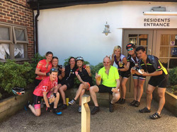 Cycle4Fitness team half way house st