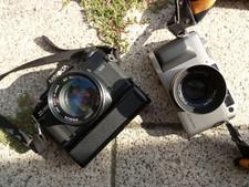 Minolta X700 vs. Contax G1