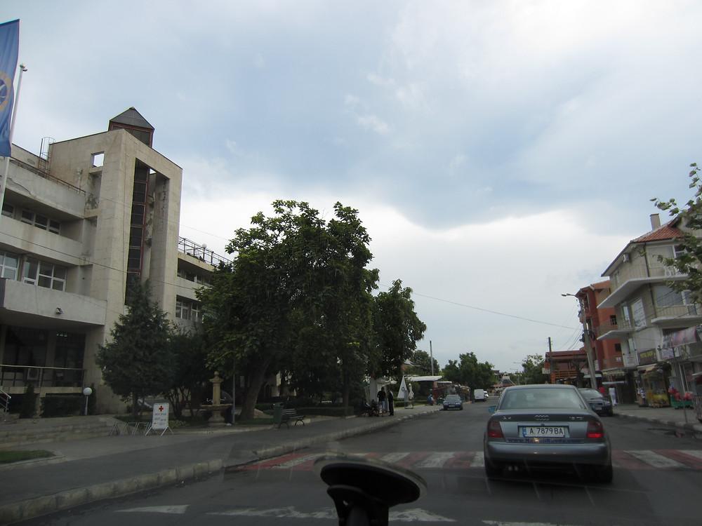 пасмурная погода в Болгарии