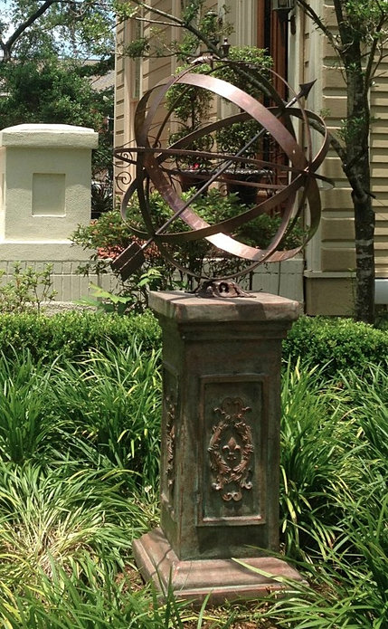The French Casting Company Ornate Garden Armillary Sundial