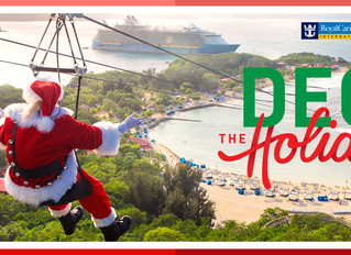 """Royal Caribbean Announces """"Deck the Holiday""""  Cruise Offer!"""