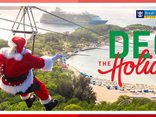 "Royal Caribbean Announces ""Deck the Holiday""  Cruise Offer!"