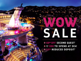 Royal Caribbean Cruise Line Announces WOW Sale!