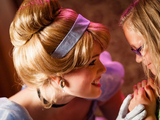 A Princess Royal Reception at Disney World!