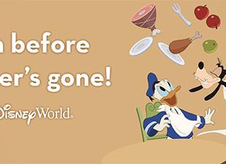 NEWS! Free Dining at Walt Disney World is Back!