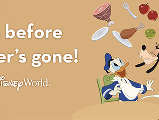 NEWS! Free Dining at Walt Disney World is Back!