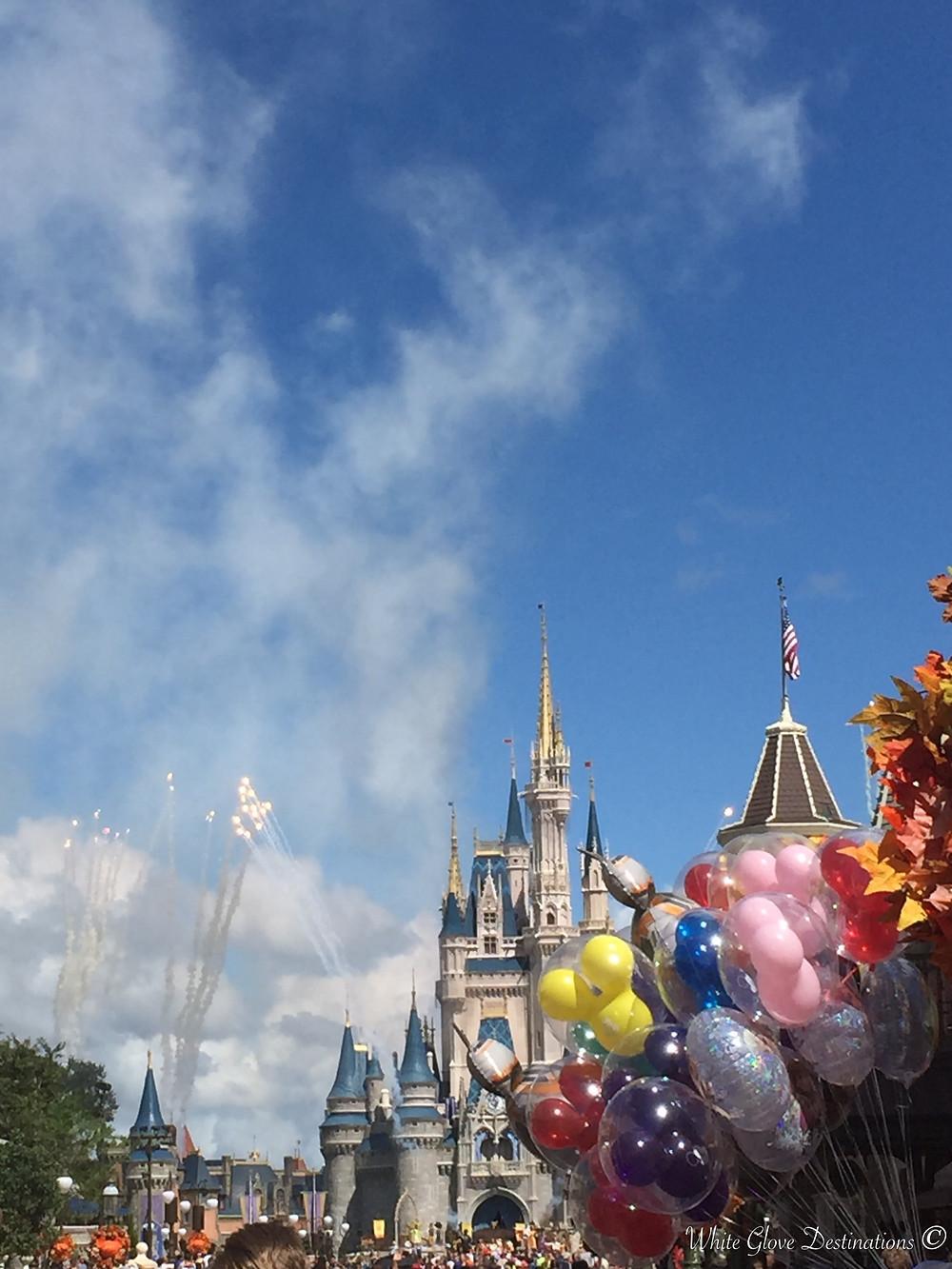 Magic at Cinderella's Castle