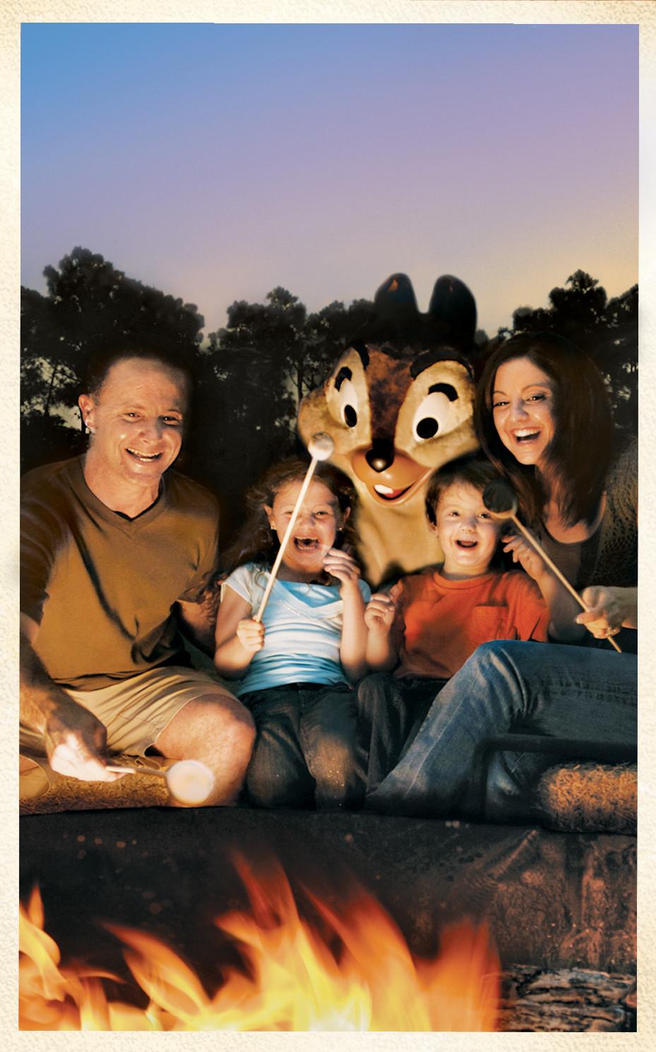 Walt Disney World Campfire at Fort Wilderness Resort