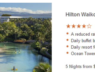 Hilton Hawaii Resorts Savings!