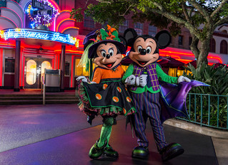 Celebrate with Minnie and Friends this Halloween Season!