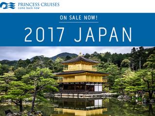 NEW: 2017 Japan Cruises