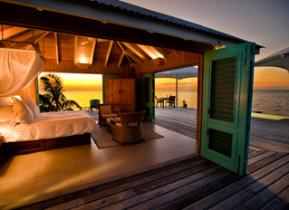 A Belize Luxurious Overwater Bungalow