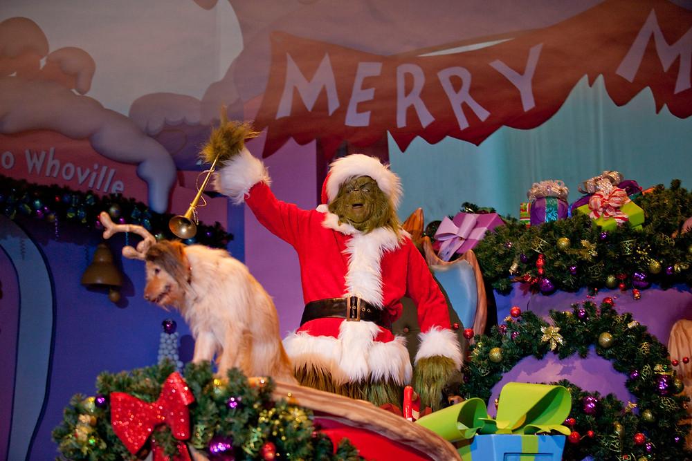 Islands of Adventure® Seuss Landing™ Dr. Seuss's infamous The Grinch™