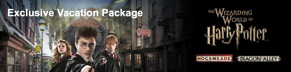 Harry Potter Vacation Package at Universal Orlando Resort